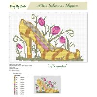 Miss Solomons Slippers Cross Stitch Pattern